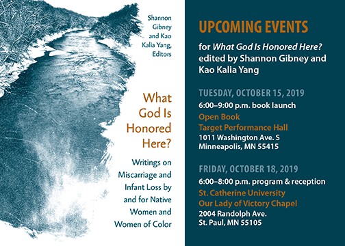 Launch events for WHAT GOD anthology